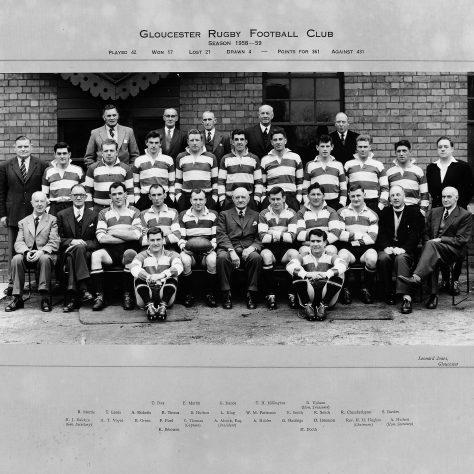 1958 - 1959 Team