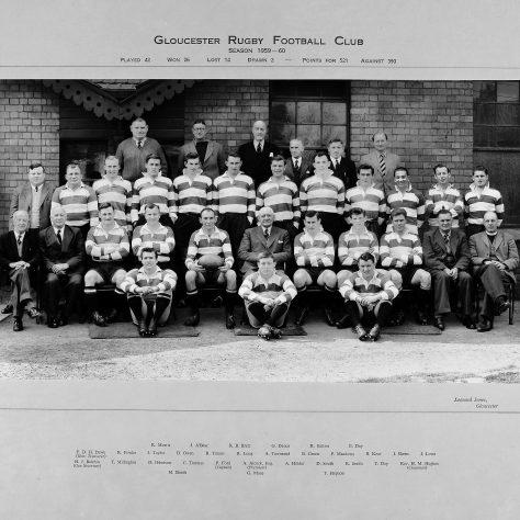 1959 - 1960 Team