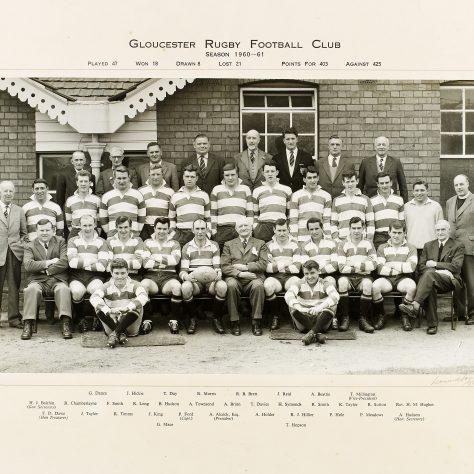 1960 - 1961 Team