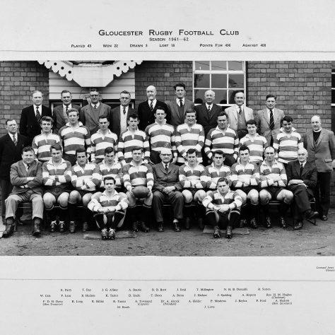 1961 - 1962 Team
