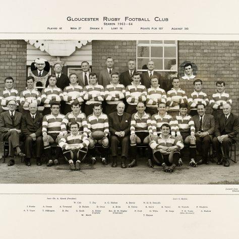 1963 - 1964 Team