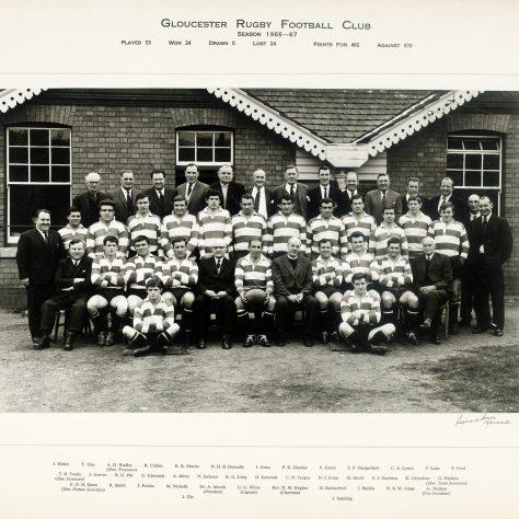 1966 -1967 Team