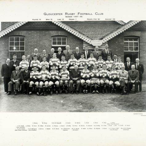 1967 - 1968 Team
