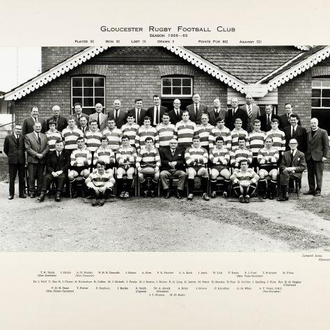 1968 - 1969 Team
