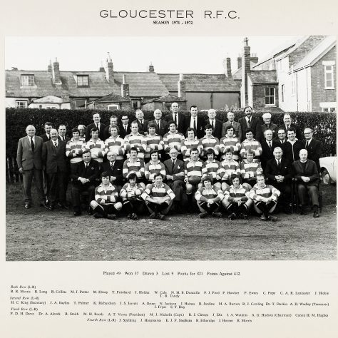 1971 - 1972 Team