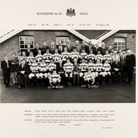 1972 - 1973 Team