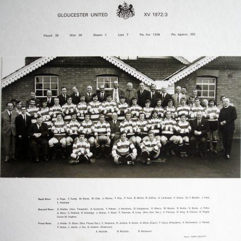 1972 - 1973 United Team