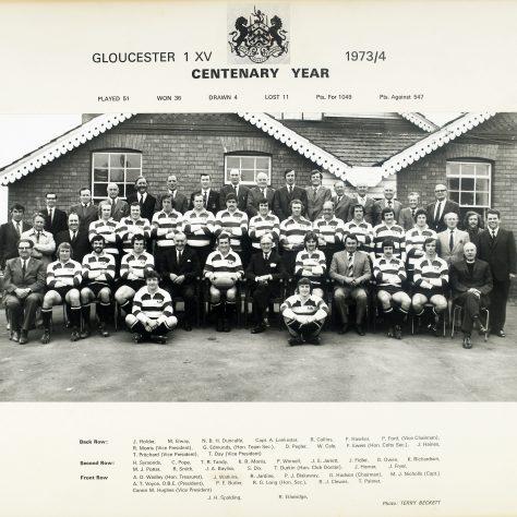 1973 - 1974 Team
