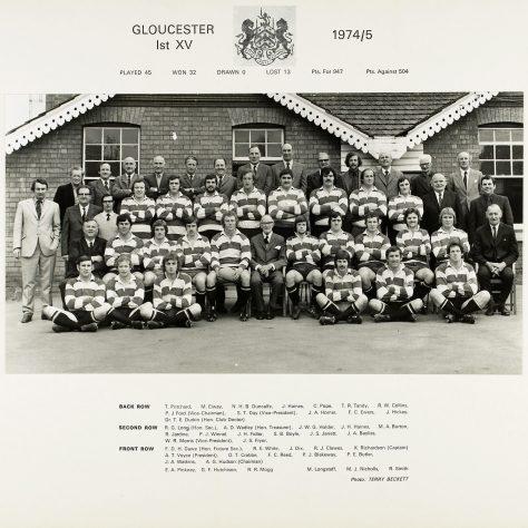 1974 - 1975 Team