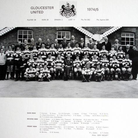 1974 - 1975 United Team