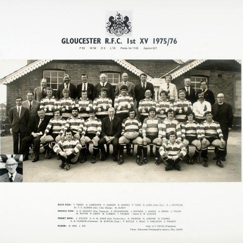 1975 - 1976 Team