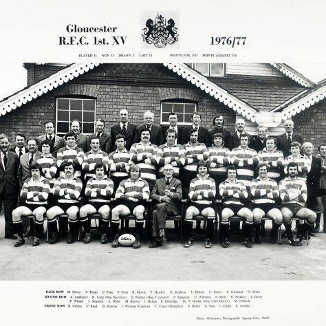 1976 - 1977 Team