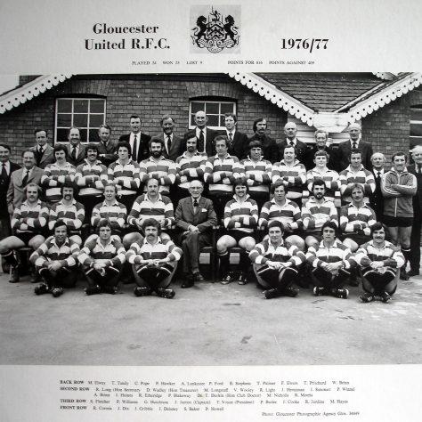 1976 - 1977 United Team