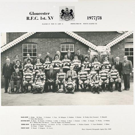 1977 - 1978 Team