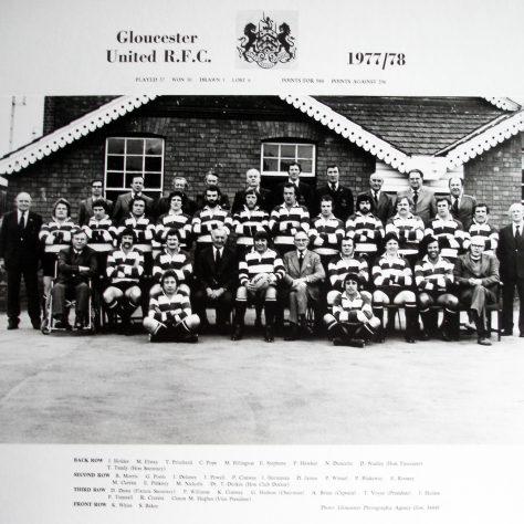 1977 - 1978 United Team
