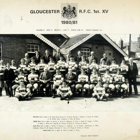 1980 -1981 Team
