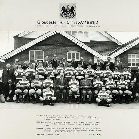 1981 - 1982 Team