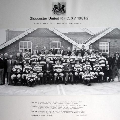 1981 - 1982 United Team