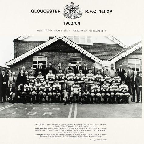 1983 - 1984 Team