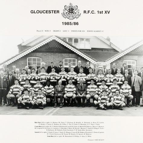 1985 - 1986 Team