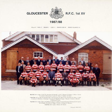 1987 - 1988 Team