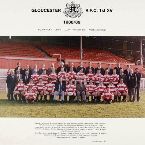 1988 - 1989 Team