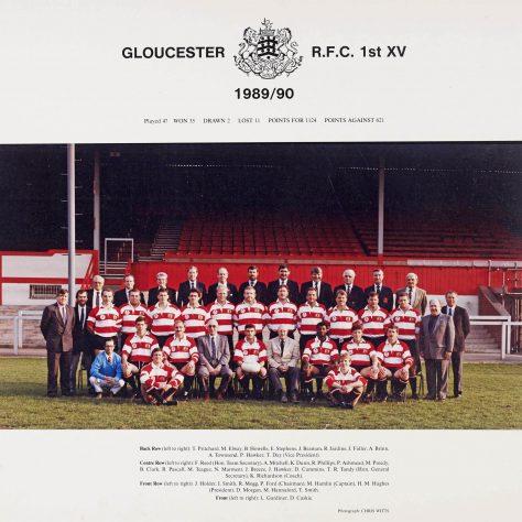 1989 - 1990 Team