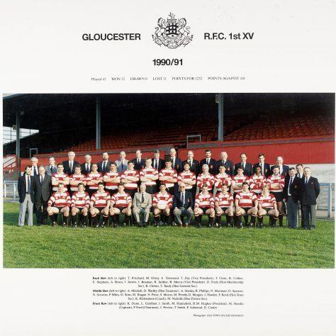 1990 -1991 Team