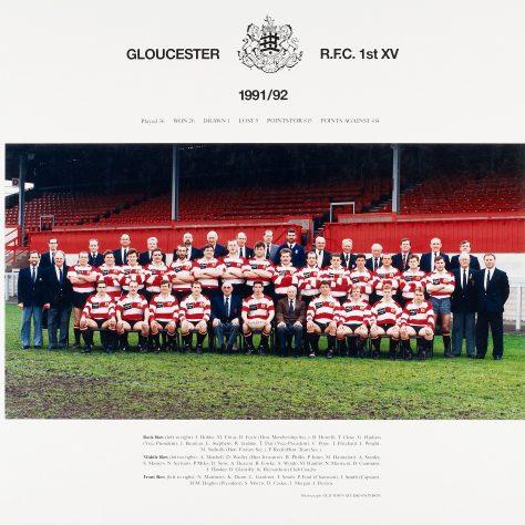 1991 - 1992 Team