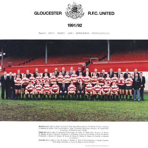 1991 - 1992 United Team