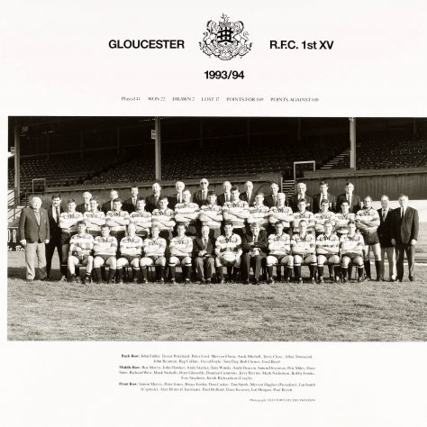 1993 - 1994 Team