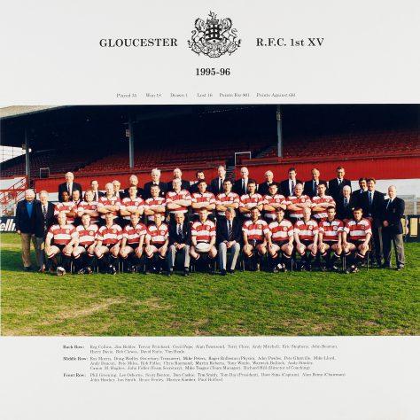 1995 - 1996 Team