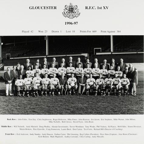 1996 - 1997 Team