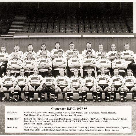 1997 - 1998 Team