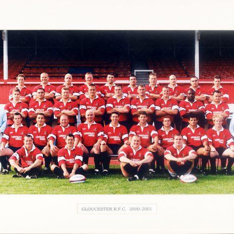 2000 - 2001 Team