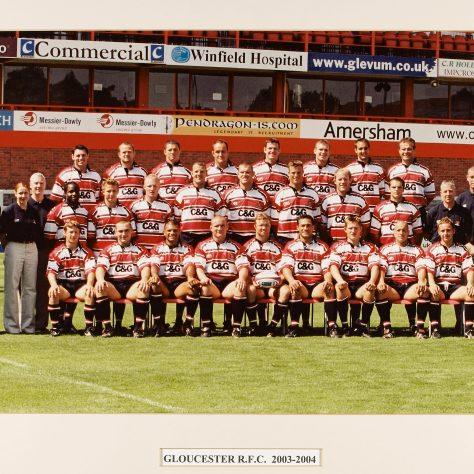 2003 - 2004 Team