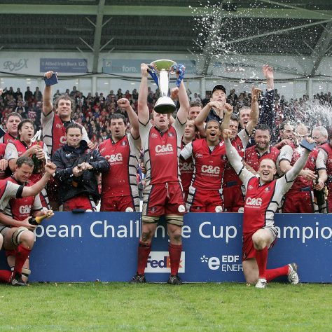 21 May 2006 - European Challenge Cup winning Team.