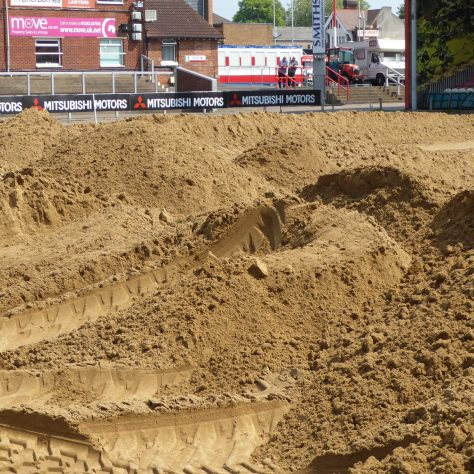 Children would have a great day building sand castles with this if they were allowed to.