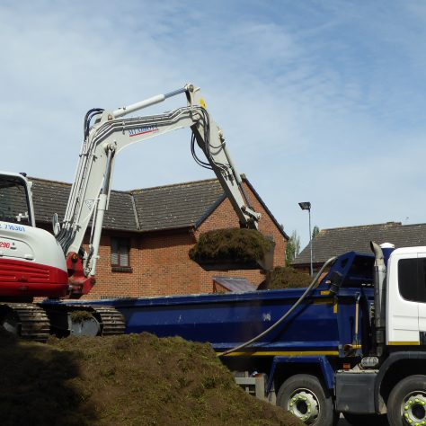 Four lorry loads have already been removed and it hardly seems to have made a dent in the pile.