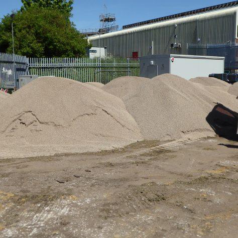 More gravel has arrived.  7 Loads so far.
