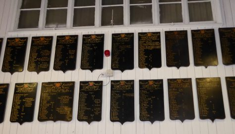 Team Honours Boards - The History