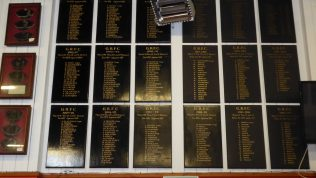 Team Honours Boards covering 1980/81 season to 1997/98 season.
