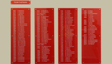 Club Captains 1873-2017
