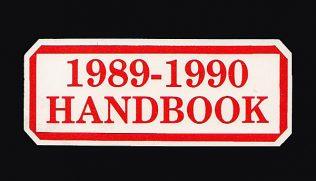 Team Handbook, 1989-90