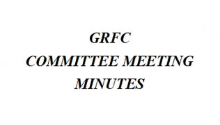 GRFC Committee Meeting Minutes
