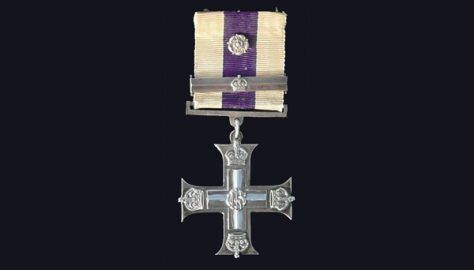 Alexander Henry Tudor Lewis, Military Cross (M.C.) and Bar