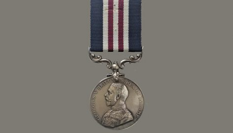 Arthur Saunders, 1891 – 1916, Military Medal (MM) 1916