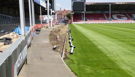 Day 60 - Friday 6 July - Preparing the walkways