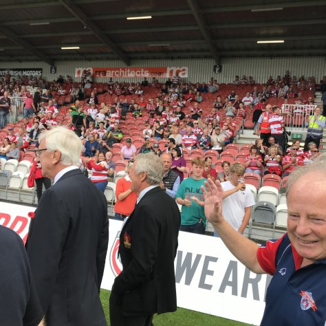 5,000th match - Former Players celebratory walk - Photo Gallery