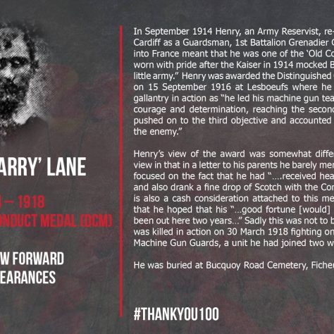 Henry (Harry) Lane 1884-1918 | Gloucester Rugby